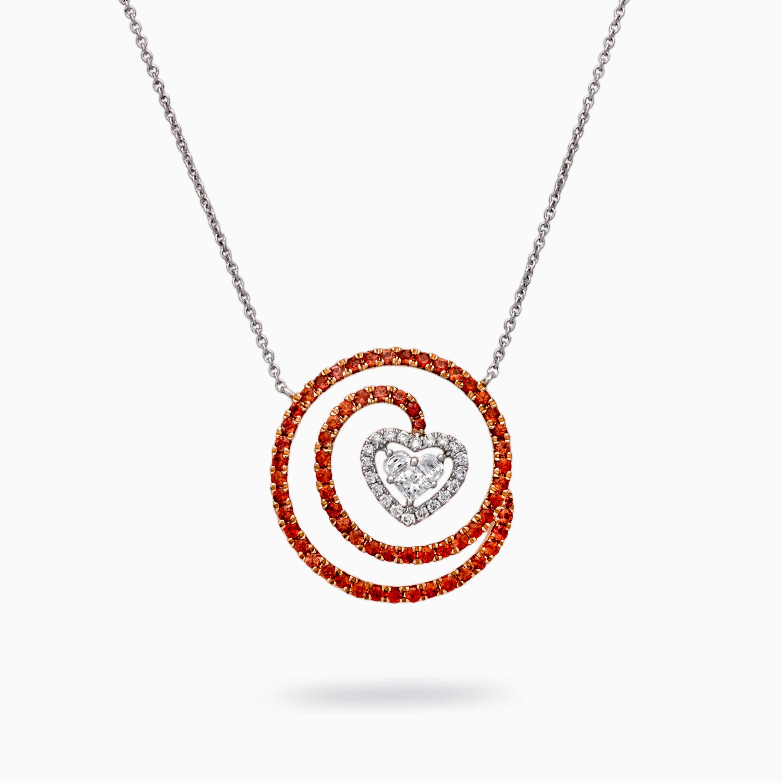 Love in colors Necklace in red*